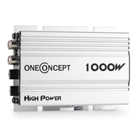 Amplifiers  - oneConcept 4-channel 4 x30 W RMS Car Hifi Amplifier - Silver