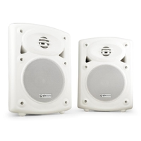 Speakers  - QTX QR5W Wall Mountable Speakers for Shops, Resturants & PA