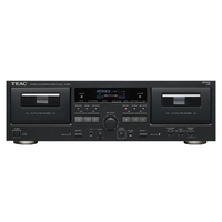 Cassette Players  - Teac W-890R Hi-Fi Twin Deck Stereo Cassette Player Tape Recorder