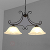 2-bulb Calabre hanging light