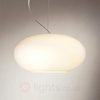 AIH - puristic pendant light 28 cm cream lustrous.