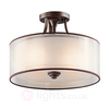 Lacey semi-flush ceiling light