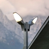 Panama Two Lamp LED Mast Lamp