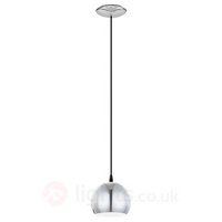 Petto Halogen Pendant Lamp in Chrome
