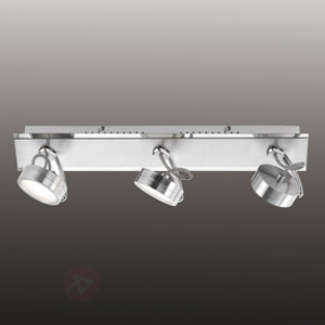 Three-bulb LED ceiling spot Mathis