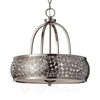 Zaria - Hanging Light in Brushed Steel Elegant