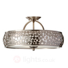 Zaria Ceiling Light Mosaic Decoration
