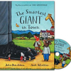 Donaldson and Scheffler The Smartest Giant in Town (Paperback and CD)