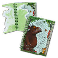 The Gruffalo Gruffalo A6 Die Cut Notebook