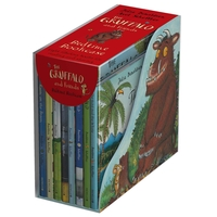 The Gruffalo The Gruffalo and Friends Bedtime Bookcase (Hardbacks)