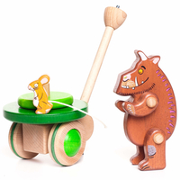 The Gruffalo The Gruffalo Wooden Push Along Toy