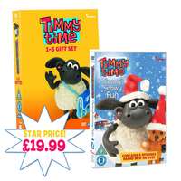 TV Series & Movies  - Timmy Time Timmy Time DVD Gift Set And Snowy Fun DVD Bundle