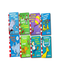 Picture Books  - Dr.Seuss Reading Fun Collection 8 Books Set Oh! The Places You
