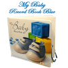 My Baby First Year Boy Record Book Blue