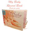 Books My Baby First Year Record Book Girl Pink