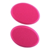 precision beauty foundation sponge 2 pack assorted neon pink & purple