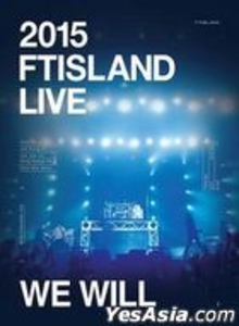 Video & DVD (buy)  - 2015 FTIsland Live - We Will Tour (2DVD + Photobook + Gift) (Taiwan Version)