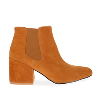 Boots  - Verali Chelsea boot in Tan Faux Suede