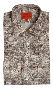 Short Sleeve  - Birds In Landscape Shirt