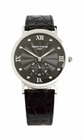 Wristwatches  - Black Face Super Slim Luxury Watch