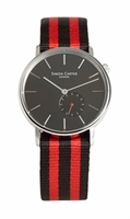 Wristwatches  - Black Face Vintage Style Watch