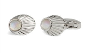Finial Mother Of Pearl Cufflink