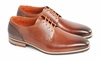 S13-133 Tan Calf Leather Derby shoe