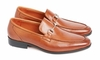 S13-157 Tan Leather Loafer Shoe
