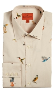 Short Sleeve  - Scattered Birds Shirt