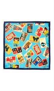 Vintage Cards Pocket Square