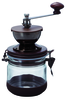 "Hario Ceramic Burr ""Canister"" Hand Coffee Grinder"