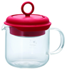 Hario Tea Maker Pull-Up Red 350ml