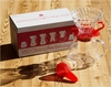 Hario V60 Glass Coffee Brewing Set Red Clear