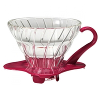 Hario V60 Glass Coffee Dripper 01 - Pink