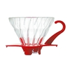 Hario V60 Glass Coffee Dripper 01 - Red