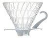 Hario V60 Glass Coffee Dripper 01 - White