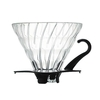 Hario V60 Glass Coffee Dripper Black 01