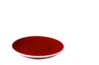 Egg 14.50cm Cappuccino/Flat White Saucer Red