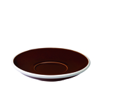 Cups & Mugs  - Egg 15.50cm Café Latte Saucer Brown