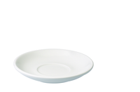 Cups & Mugs  - Egg 15.50cm Café Latte Saucer White