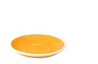 Cups & Mugs  - Egg 15.50cm Café Latte Saucer Yellow