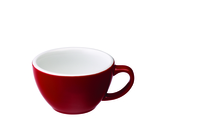 Cups & Mugs  - Egg 300ml Café Latte Cup  Red