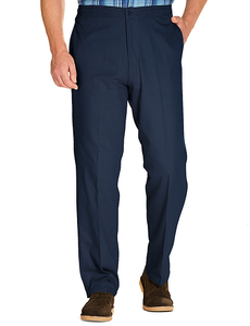 Easy Pull On Cotton Trouser