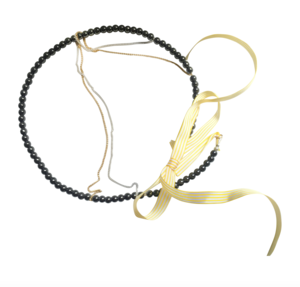 Hair Jewellery  - SUMMER ENCHANTING CIRCLET_YELLOW: By Kat&George for Senhoa