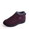 Shoes|High Heels|Casuals Burgundy Warm Fur Lined Waterproof Boots