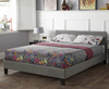 Avella Small Double 4ft Steel Fabric Bed Frame