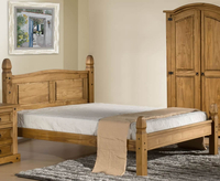 Small Double Frame  - Charlbury 4ft Low Foot End Pine Bed