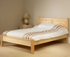 Coniston 4ft Pine Low Footend Bed unfinished