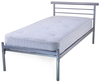 Contract Small Double 4ft Metal Mesh Bed