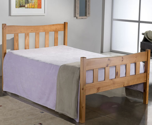 Small Double Frame  - Craven 4ft Pine Wooden Bed